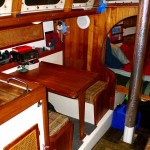 Port Side Dinette and Galley