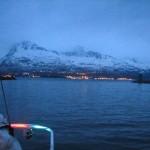 Departing Valdez at Midnight